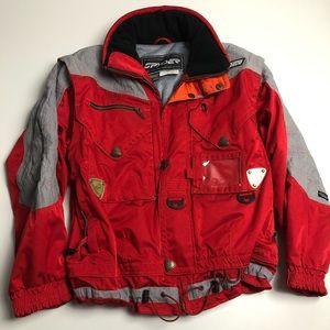 Spyder Thinsulate Keprotec Ski Winter Jacket Mens